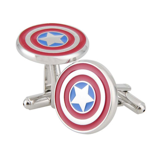 Captain America Cufflinks
