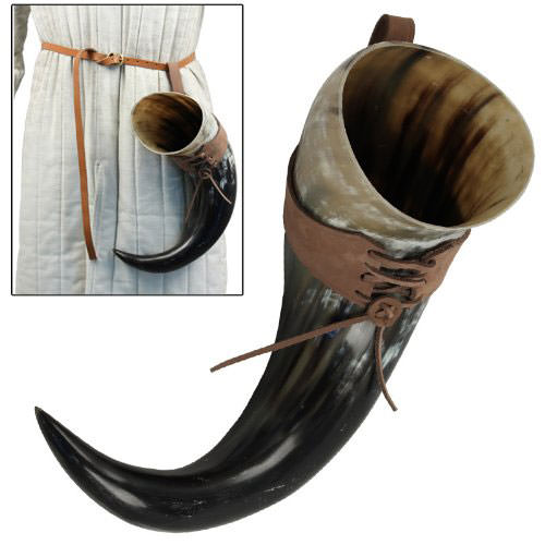 Medieval Beer Horn