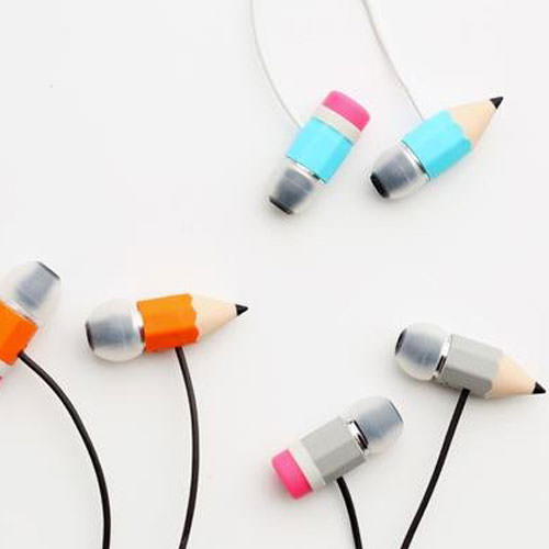 Pencil Earphones
