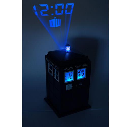 Tardis Projector Alarm Clock