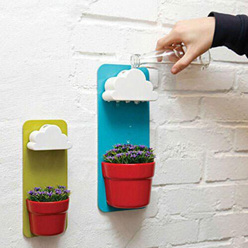 Rainy Flower Pots